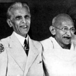 Gandhi and Jinnah historical picture